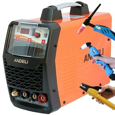 50A Plasma Cutter/200A Hf Tig/mma Portable Dc Inverter Welder 3 In 1+Accessories
