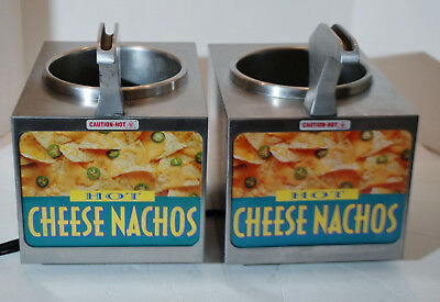 2 - Nacho Cheese Warmers /    Two Warmers    Fondue, hot chocolate