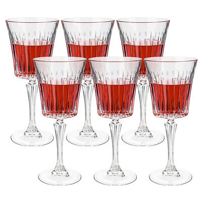 NEW RCR Crystal Timeless Red Wine Goblet Set 6pce 298ml