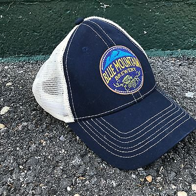Blue Mountain Brewery Hat Real Virginia Beer Baseball Cap Classic Lager Ale Tap