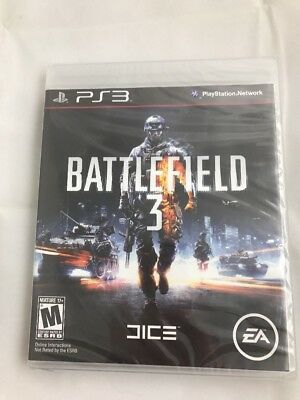 Playstation 3 Ps3 Game Battlefield 3 Brand New & Factory Sealed