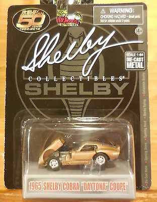 Shelby Collectibles 1965 Shelby Cobra Daytona Coupe Gold Combine Shipping
