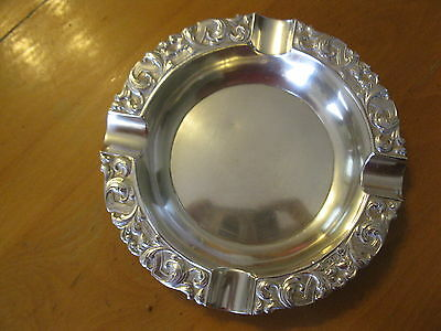 keep or scrap large Dutch silver ashtray 155-g