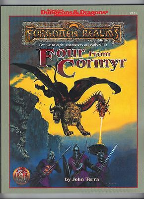 Forgotten Realms Four from Cormyr AD&D 2e 9531 TSR Price Inc Del In UK