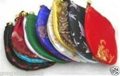 1000 china silk jewellery pouches mixed color