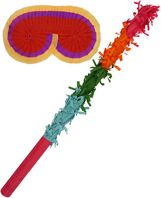 Pinata Buster Set - Multi-Listing - Basher Birthday Party Game Toy Eye Mask