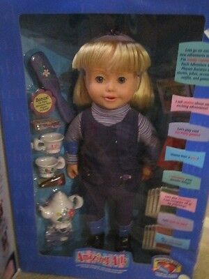 Amazing Ally Doll Interactive By Playmates New In Box
