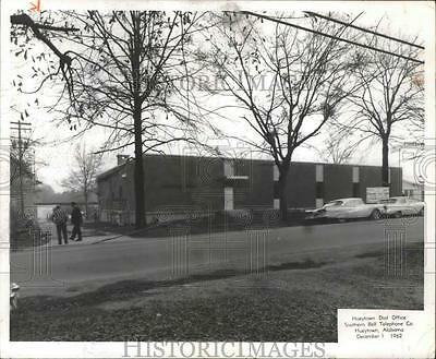 1962 Press Photo Southern Bell Telephone-New dial office in Hueytown, Alabama
