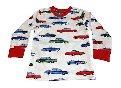 Boys car top with long sleeves. Made from 100% cotton. Free postage & packaging