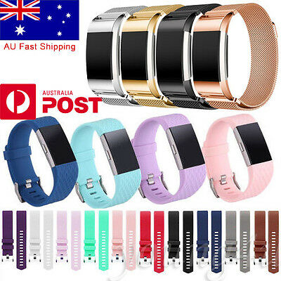 Various Band Replacement Wristband Watch Strap Bracelet For Fitbit Charge 2 Band