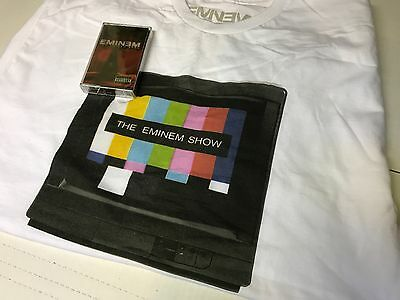 NEW SUPER RARE The Eminem Show Limited Edition Cassette with T-Shirt Large