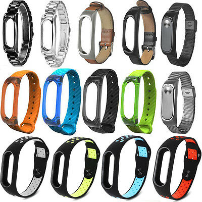 Different Style Wrist Strap WristBand Bracelet Replacement for XIAOMI MI Band 2