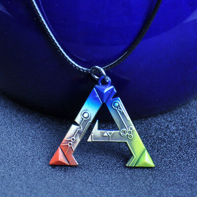 3D ACT ARK: Survival Evolved Sign Metal Necklace Pendant Cosplay Jewelry Gift
