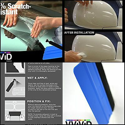 "Clear Paint Protection Bulk Vinyl Wrap Film 12"" 120"" 3m Including Squeegee Bra"