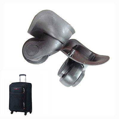 1 Pair L Universal Replacement Luggage Suitcase Wheels Swivel Wheel For Any Bag