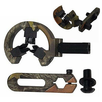 Tactical Compound Bow Hunting Archery Arrow Rest Brush Camo Left Right Hand