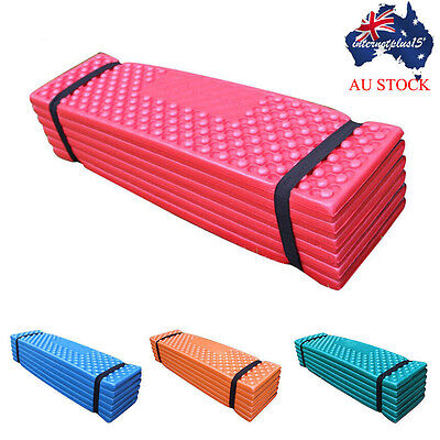 Foam Camping Mat Folding Beach Tent Sleeping Pad Waterproof Mattress AU STOCK