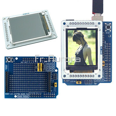 "1.8"" inch 128x160 TFT LCD+Shield Module SPI Interface For Arduino Esplora"
