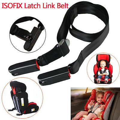 Kids Safety Car Seat Fixed band Strap Kit Install Belt Connector isofix/latch AU