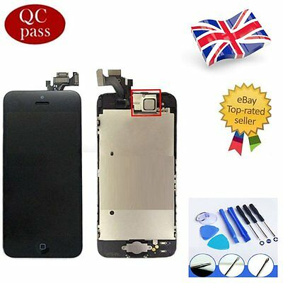 For iPhone 5 Black LCD Touch Screen Digitizer Display Full Assembly Replacement