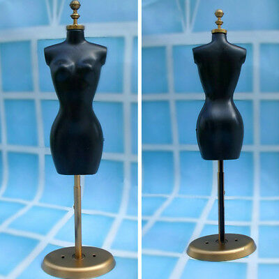 Barbie Doll Display Dress Form Clothes Mannequin Model Stand Rack Holder Chic US