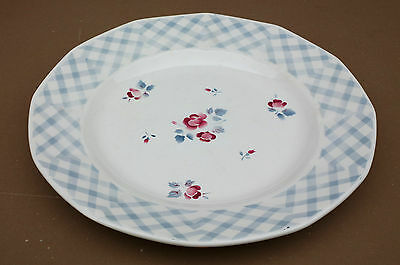 Ancien plat rond DIGOIN BASTIA vintage SARREGUEMINES old french dishes #3