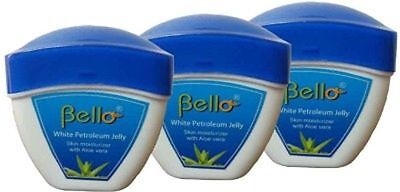 Bello White Petrolium Jelly 50 G Pack of 3    free shipping