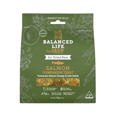 Vet's all Natural Balanced Life Companion Cat Treats - Salmon 85g