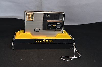 Kodal disc 4000 camera with box and instructions