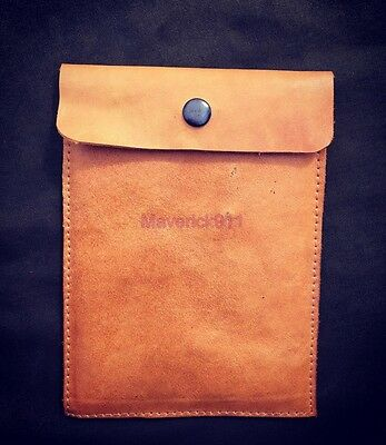 WW2 German  leather Soldbuch pouch ( Repro )