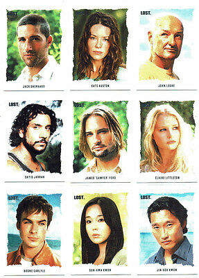 Lost Season 1 - 5 Lost Stars Complete 25 Card Artifex Chase Insert Set A1 - A25