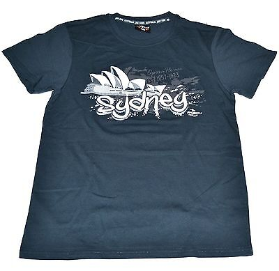 Men Unisex Souvenir T-shirt 100% cotton Adult Australia Sydney Opera House