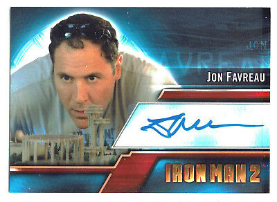 Iron Man 2 Movie Autograph Card A1 Jon Favreau as Happy Hogan