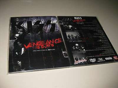 Kiss Dvd Vengeance Is Ours 1992-1995 A Visual Kisstory