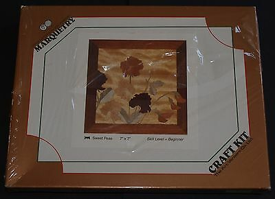 "Art Veneers Marquetry Craft Kit 7"" x 7"" 315 Sweet Peas - Beginner"