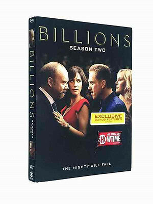 New Hot Billions Season 2 (DVD, 2017, 4-Disc Set) Brand New Sealed  Free