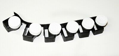 Buckle Guard PRO Bus Kit - 6 Buckle Guard Pros plus Velcro, Black Made in USA
