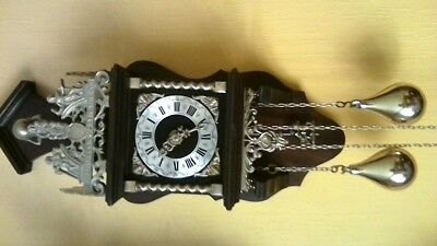 vintage Dutch zandaam wall clock w/order