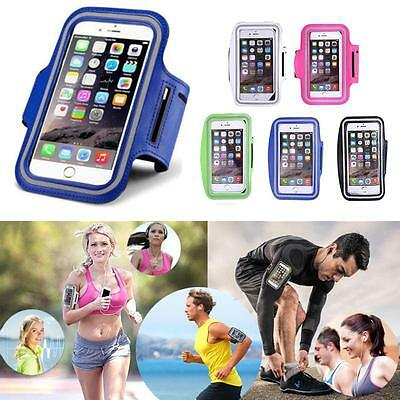 Armband Case Holder Sport GYM Running Exercise Key For Samsung Galaxy S8/S8 Plus