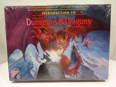 Tsr Introduction To Advanced Dungeons & Dragon Game And Cd. 1995 New Sealed.
