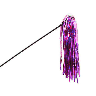 Purple Mylar Ribbon Cat Kitten Teaser Toy Fun & Exercise for your Kitty