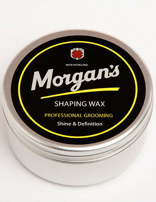 Morgans Mens Hair Styling Style Shaping Wax Coconut Scent Barber Grooming 100ml
