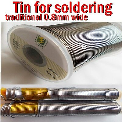Solder tin 60/40 Wire 0,8mm Tin Lead for Electrical Bonding cables 50g 100g 200g