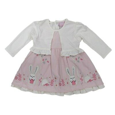 SALE! Baby Girl Corduroy Dress Mock Bolero 6-12 12-18 18-24 Months
