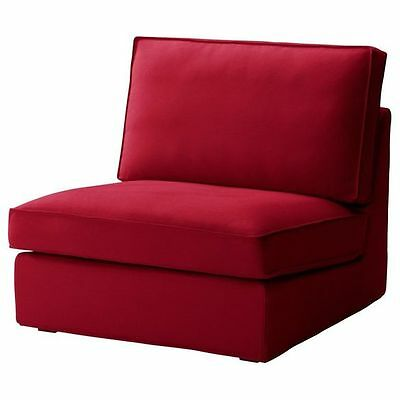 IKEA KIVIK COVER for Kivik One Seat Section Dansbo Medium Red Chair on