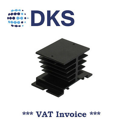 Aluminum Heat Sink For Solid State Relay SSR Heat Dissipation 000386 QTY=5