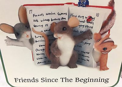 Charming Tails 2006 Friends Since The Beginning 97/132 by Fitz Floyd NIB
