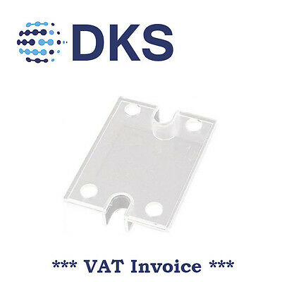 SSR Protective Cover Solid State Relay SSR Safety Plastic Cover 000388 QTY=2