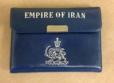 1971 Empire of Iran 200 Rials Proof Silver Coin COA! BU UNC First Limited Issue!