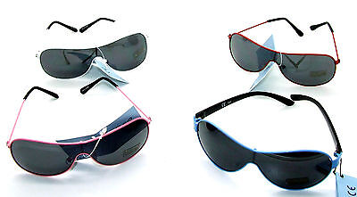 Older Children's Sunglasses - Choice of 4 Colours - UV 400 Protection x 3 Pairs